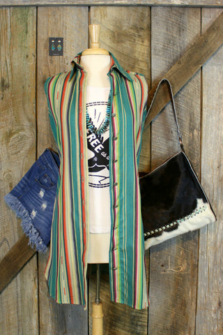 Silverado Zuni Turquoise Dress/Duster