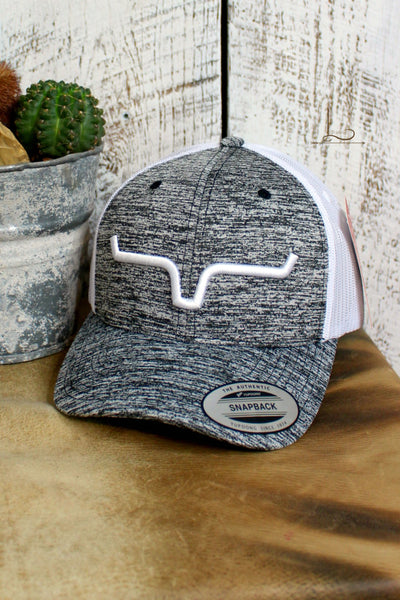 Heather Grey Mesh Cap - L Trading