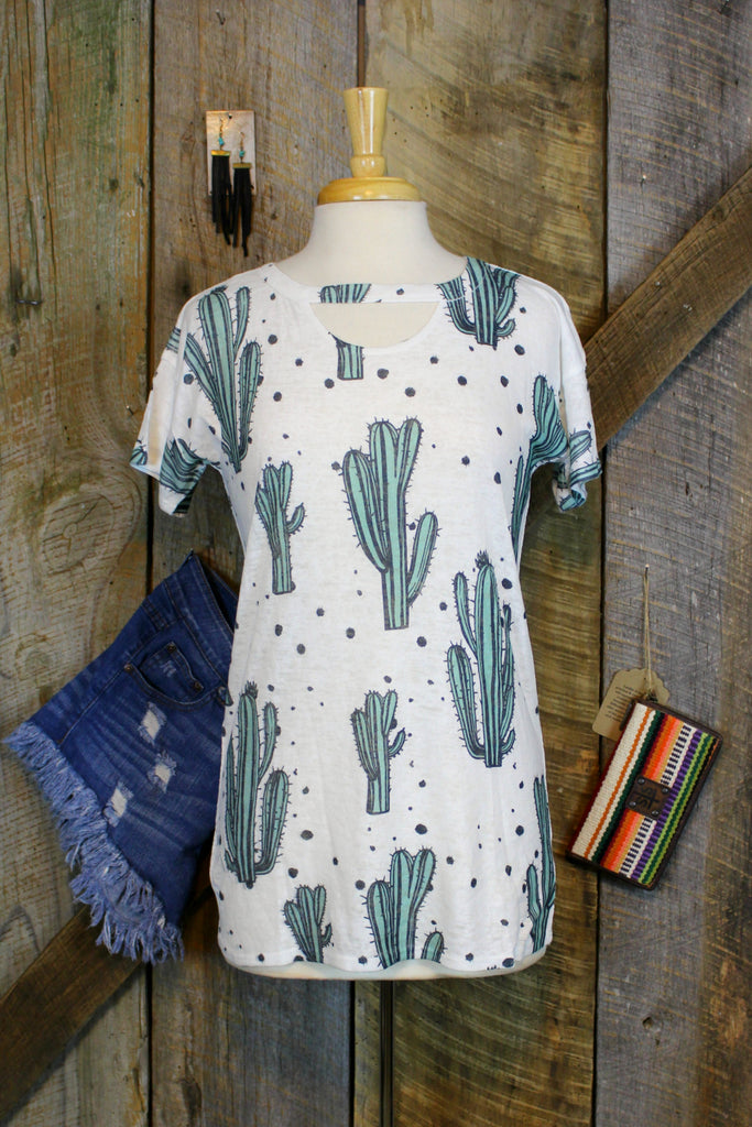 The Cactus Tee - L Trading