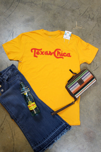 Texas Chica Graphic Tee - L Trading