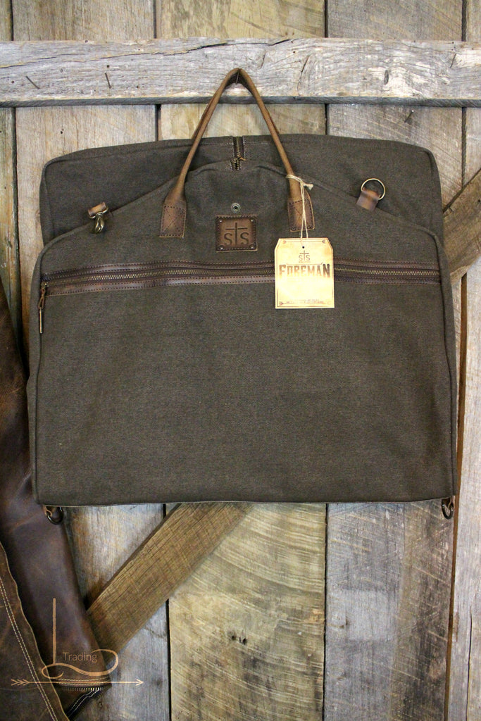 Foreman Canvas Garment Bag - L Trading