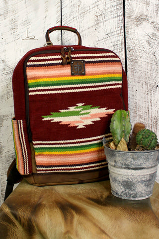 The Buffalo Girl Serape Backpack