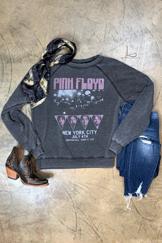Pink Floyd Distressed Sweatshirt