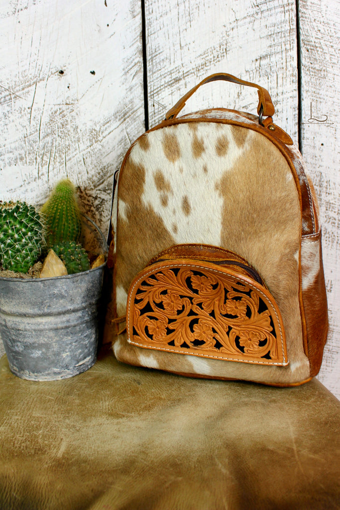 The Tucson Cowhide Mini Backpack - L Trading