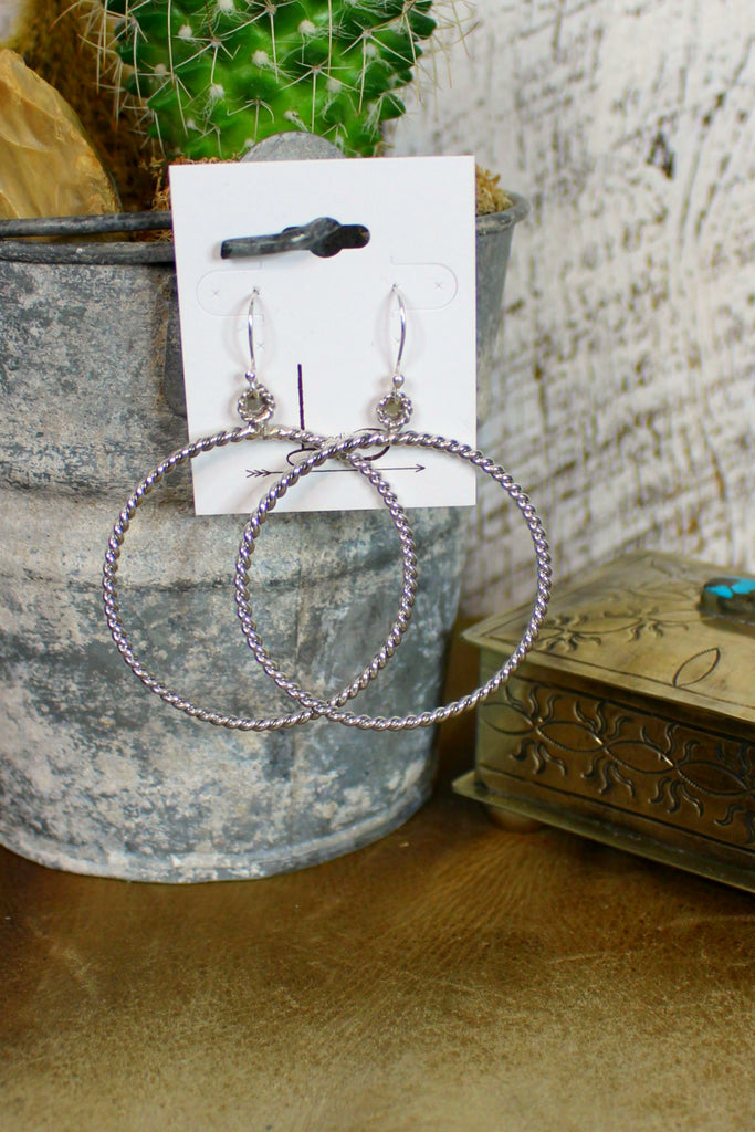 Sterling Cable Hoops - L Trading
