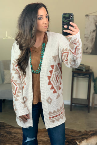 The Mesa Aztec Cardigan