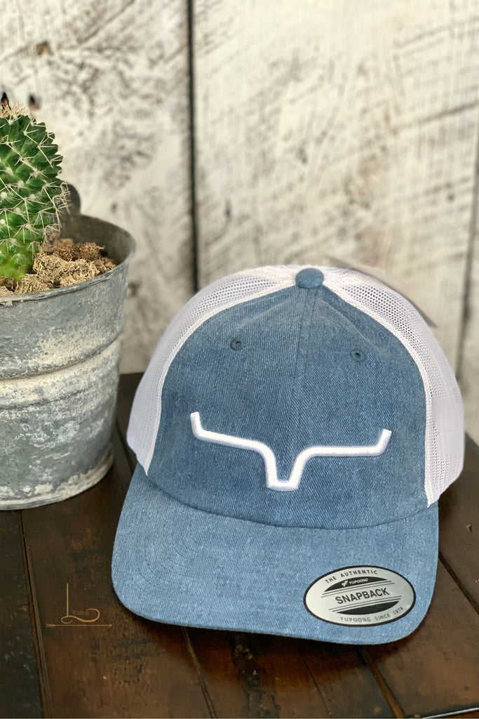 Kimes Cap in Faded Blue - L Trading