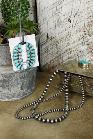 The Turquoise Flores Earrings