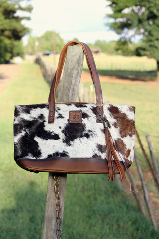 Classic Cowhide Tote