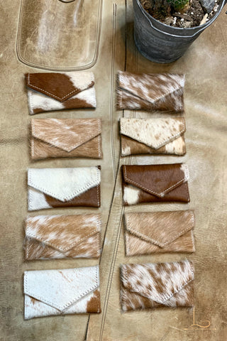 The Vaquera Cowhide Card Holder