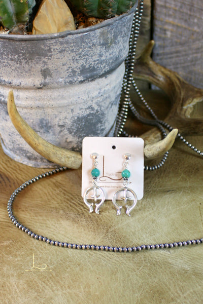 Naja & Turquoise Earrings - L Trading