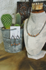"16"" Navajo Pearls with Orange Spiny Oyster Necklace & Teardrop Earrings"