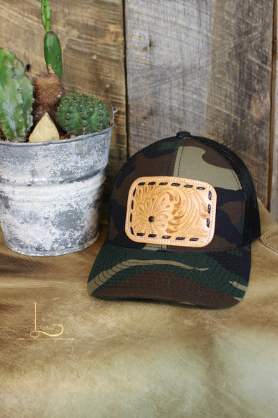 Camo Patch Cap - L Trading