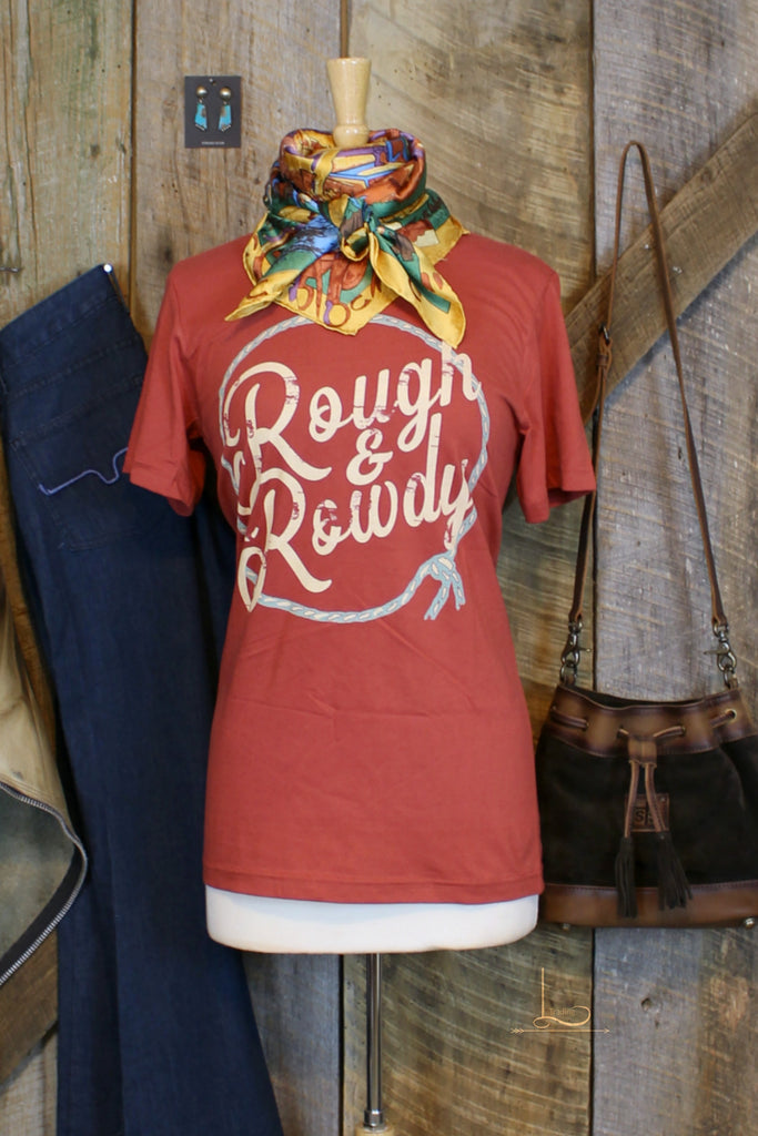 Rough & Rowdy Graphic Tee - L Trading