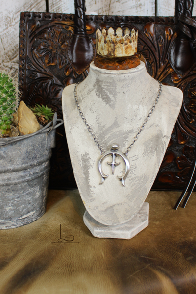 Sterling Naja Necklace