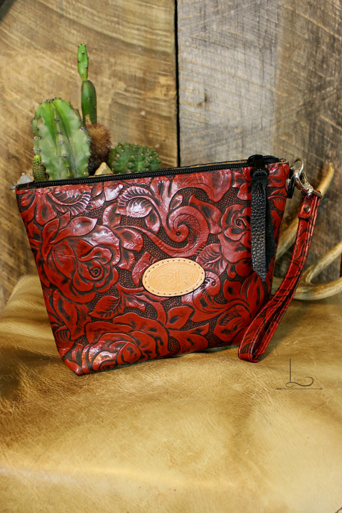 Rosa Large Makeup Pouch - L Trading