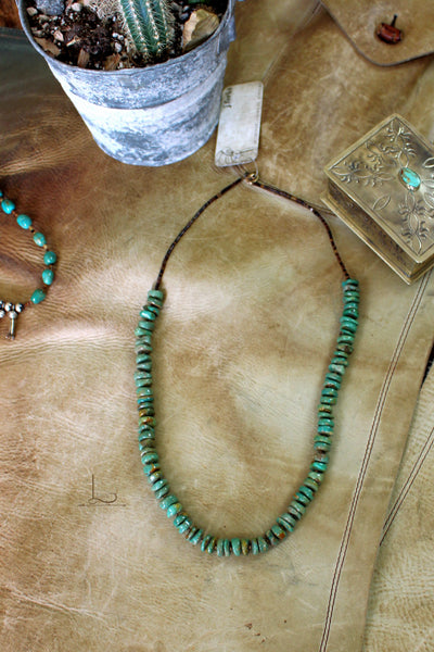 The Verde Kingman Turquoise Necklace