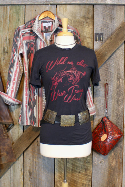 Wild As The West Texas Wind Graphic Tee