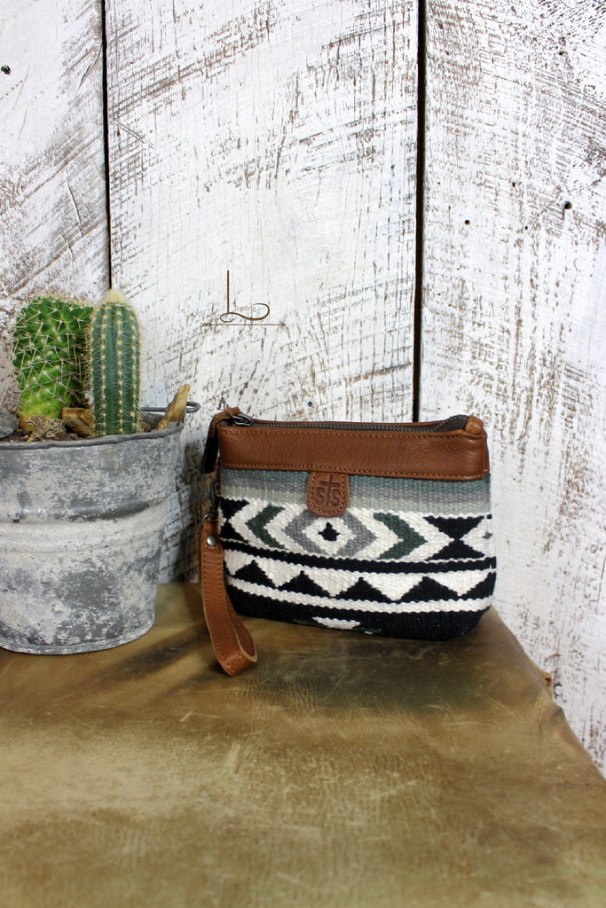 The Cholula Makeup/Jewelry Pouch/ Wristlet