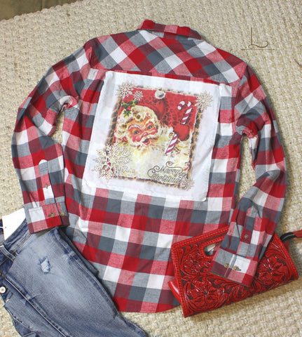The Santa Plaid Flannel