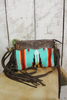 Desert Skies Crossbody in Turquoise