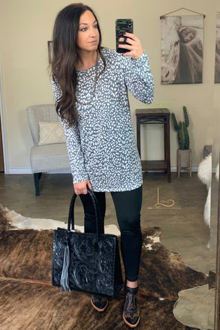 The Leopard Tunic