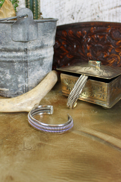 The Sterling Dos Coil Cuff