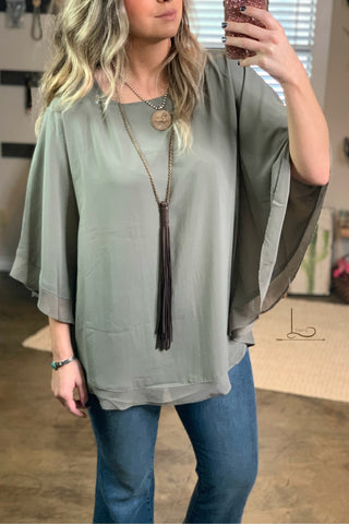 The Smokey Olive Top
