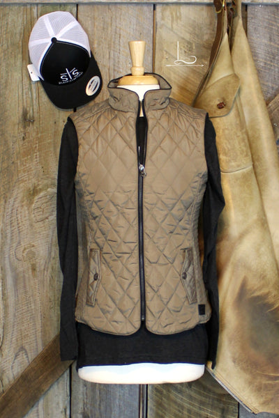 The Savannah Vest in Mink - L Trading