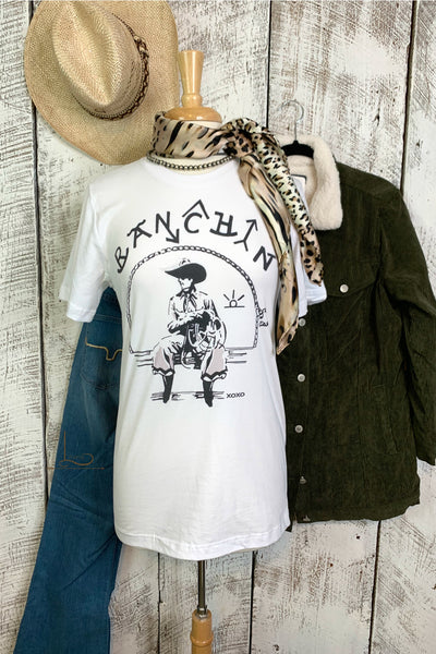 Ranchin Graphic Tee - L Trading