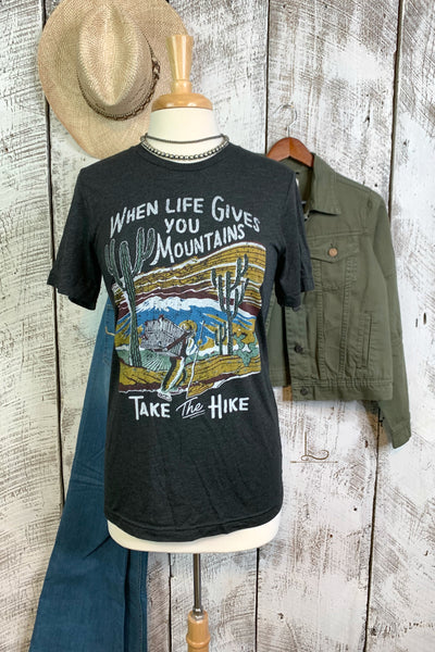 Take the Hike Graphic Tee - L Trading