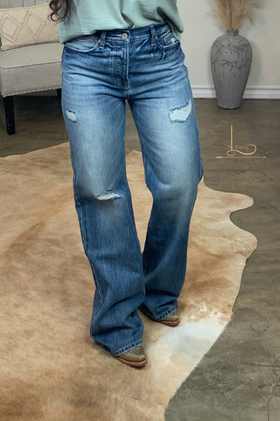The Hank - Wide Leg Jeans
