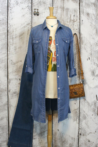 Chambray Duster/Dress
