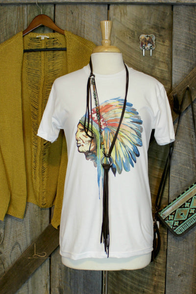 Watercolor Chief ~ Graphic Tee
