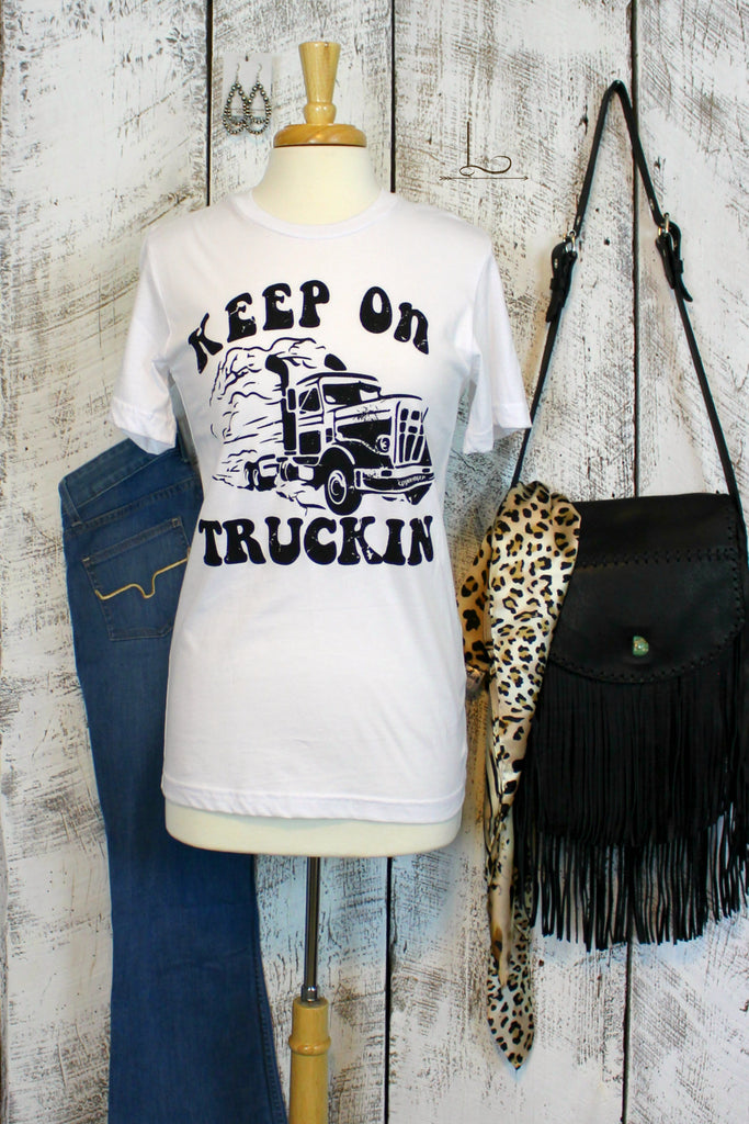 Keep on Truckin Graphic Tee - L Trading