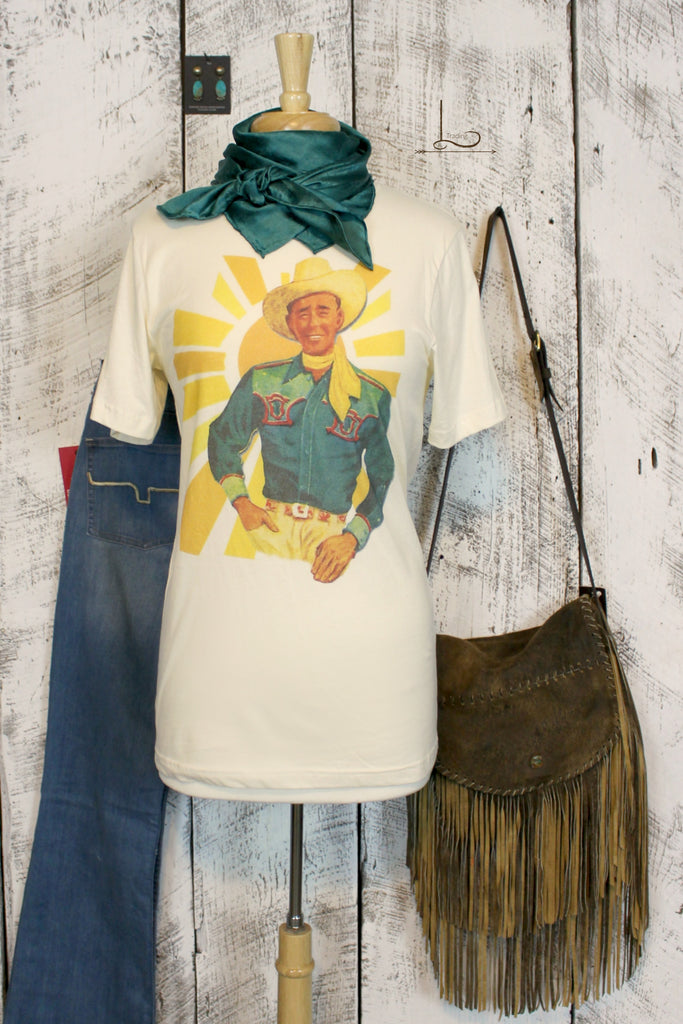 Ray of Sunshine Graphic Tee - L Trading