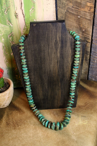 Verde Lg Turquoise Necklace
