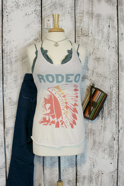 Rodeo Chief Graphic Tank - L Trading