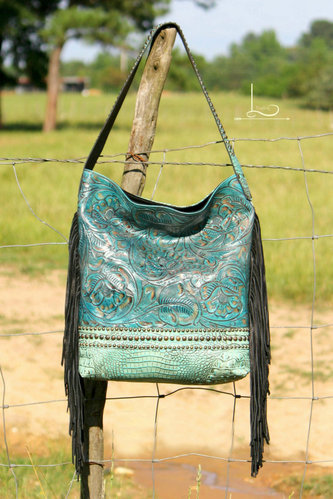 The Lorie Darlin in Turquoise