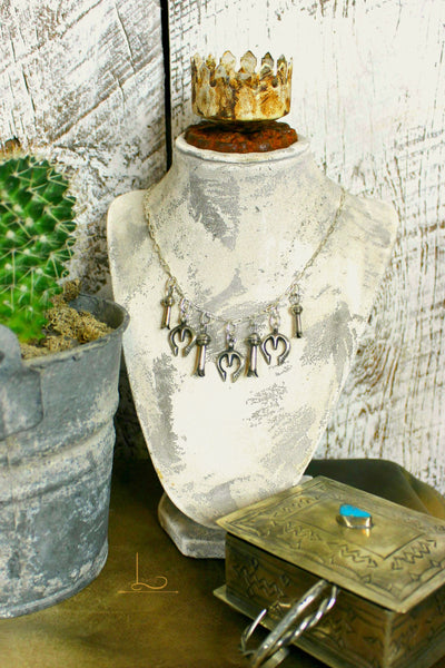 The Sterling Naja & Blossom Necklace - L Trading