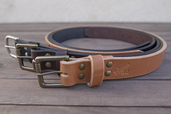 What does it take to make a quality leather belt?