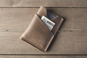 Introducing the wrap around card wallet
