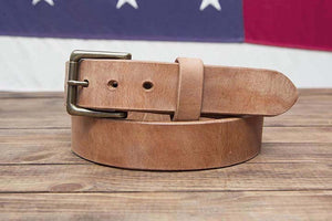 Big Hoss Full Grain Leather Belt