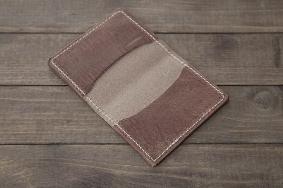 old world harness minimalist wallet 3 pocket