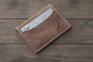 3 Pocket Hoss leather wallet