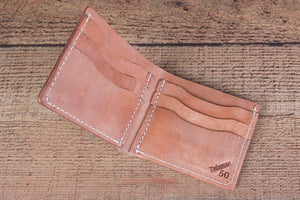 Big Hoss 6 Shooter Full Grain leather Bifold Wallet