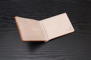 Natural Veg Tanned Bifold