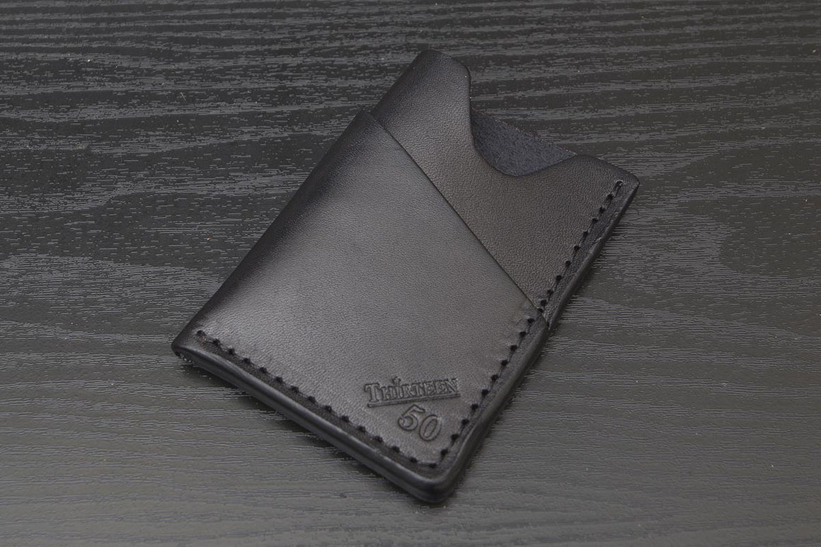 Wrap | Black Minimalist Wallet