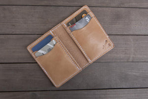 Vertical 6 Pocket | Whiskey Wallet - Thirteen50 Leather