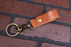 Key Fob | Whiskey Shell Cordovan